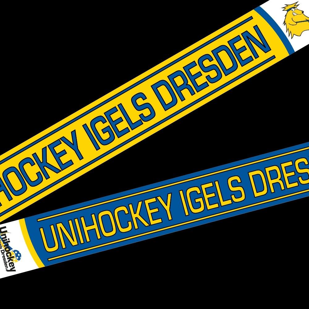 Unihockey Igels Dresden Fanschal