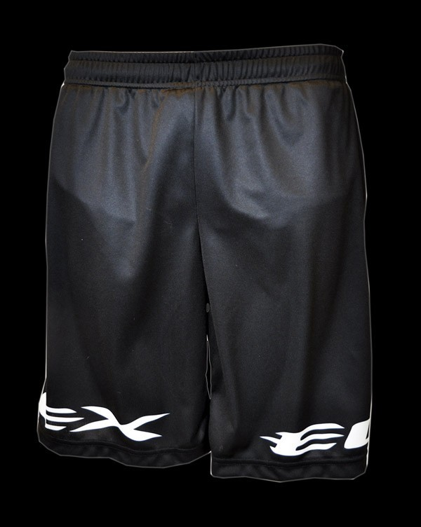 Exel Giant Logo Training Shorts black-white
