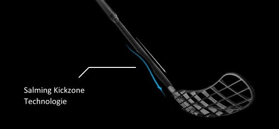 Salming Quest Kickzone Tip-Curve - Unihockey/Floorball Stock