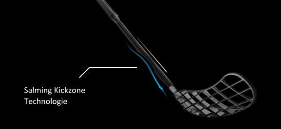 Salming Quest Kickzone Tip-Curve - Unihockey/Floorball Stock