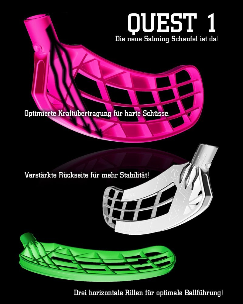 Salming Quest 1 Schaufel - Kelle - Blatt