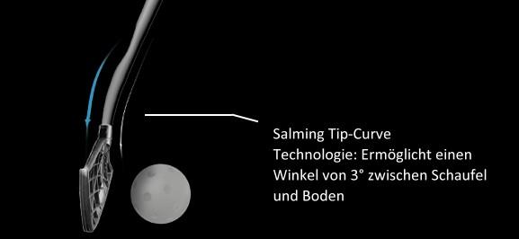 Salming Quest Kickzone Tip-Curve Junior - Floorball Schläger