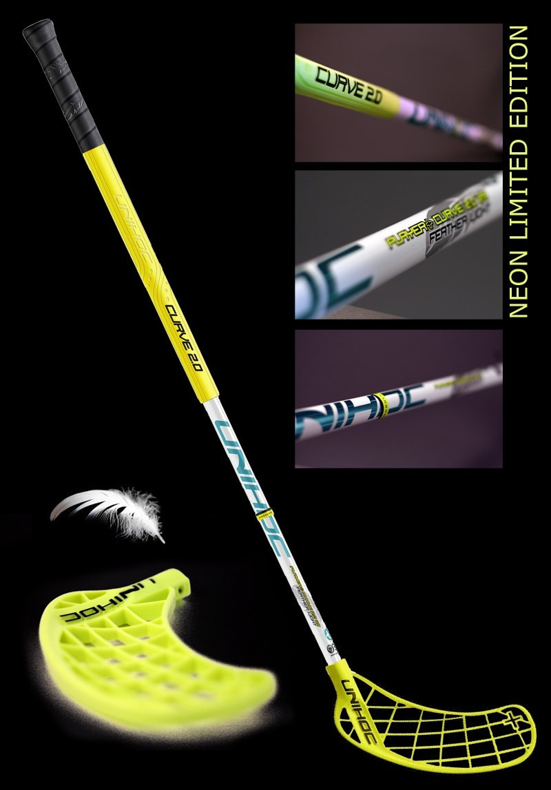 Unihoc Player+ Neon Feather Curve 2.0° 29 Limited Edition