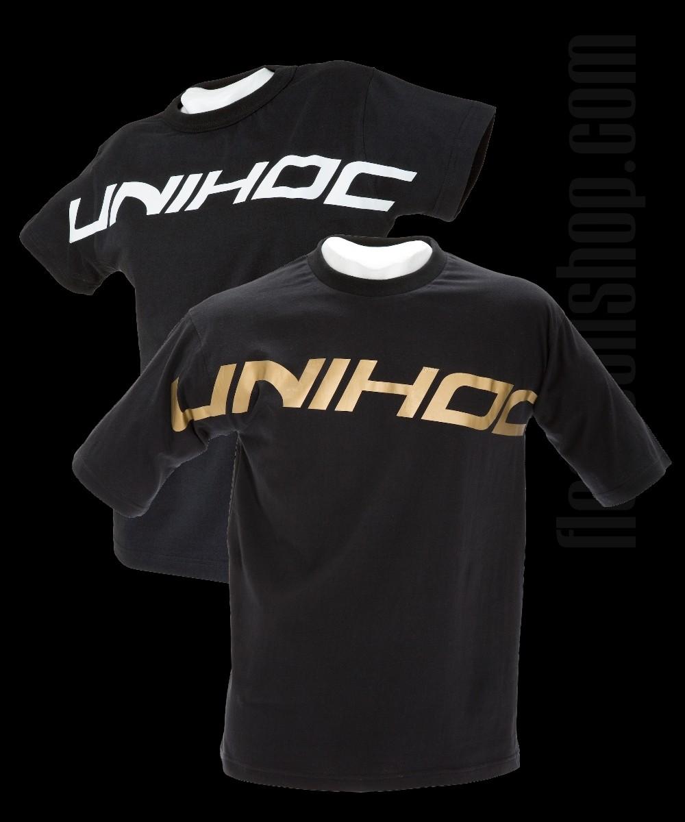 unihoc T-Shirt Original Gold/Weiss