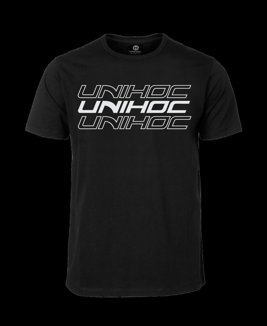 unihoc T-Shirt Triple - Black