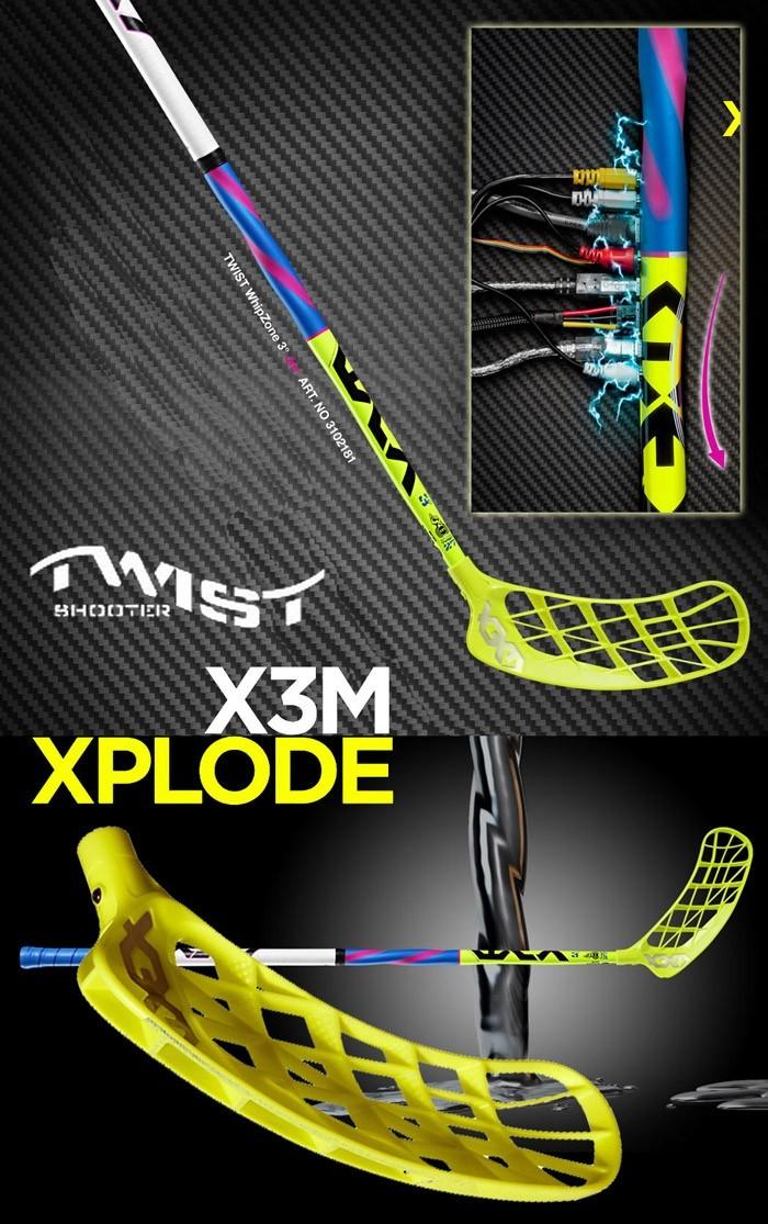 X3M Xplode Twist 3.0 29 - floorballshop.com