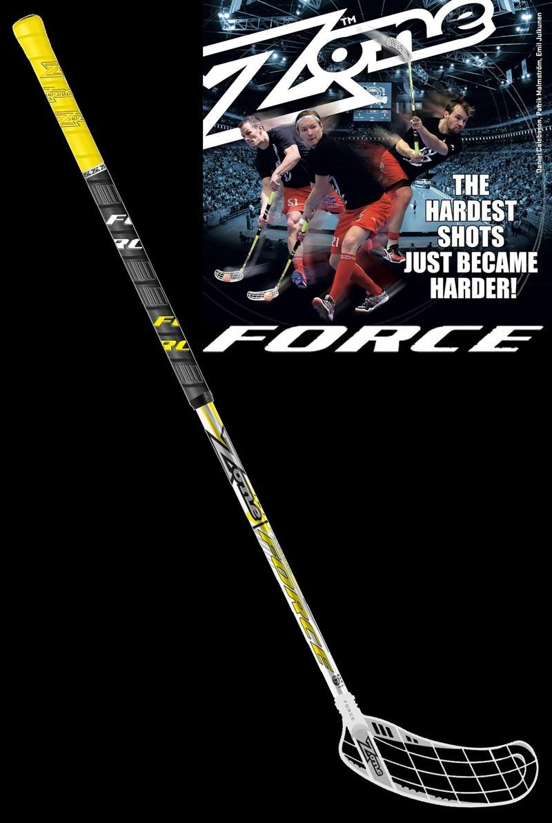 Zone Force Superlight 27 Neon - Floorball Schläger