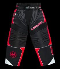 unihoc Goaliehose Optima Schwarz/Rot