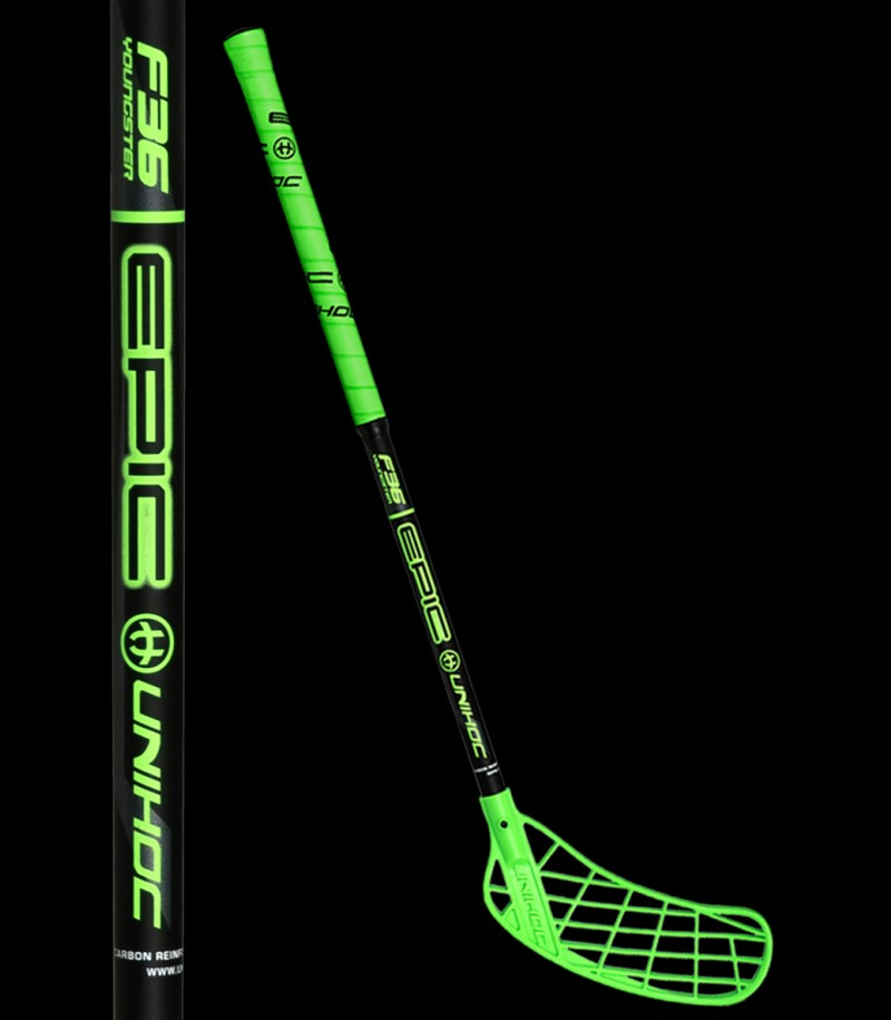 unihoc EPIC Youngster 36 neongrün