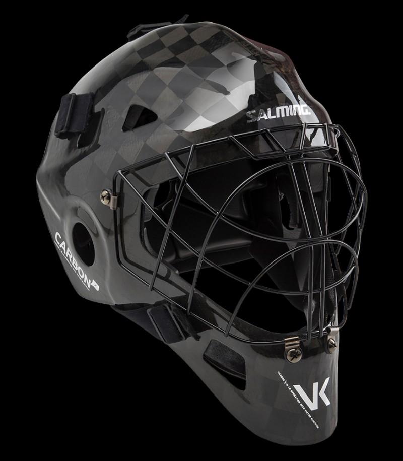 Salming Goaliemaske CarbonX Black