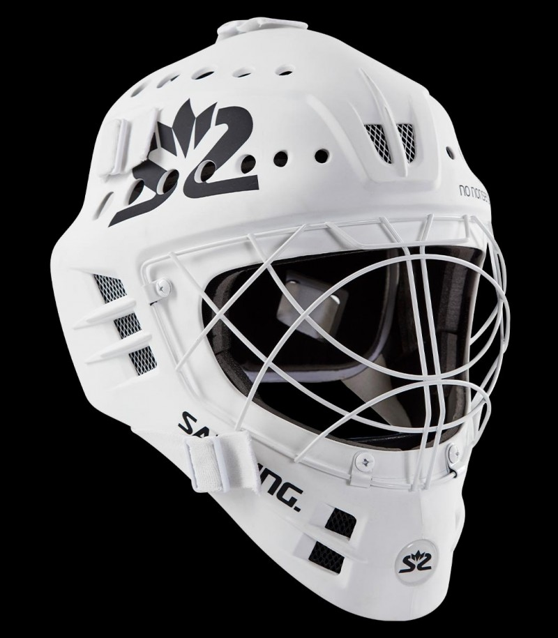 Salming Goaliemaske Phoenix Elite Weiss 2019