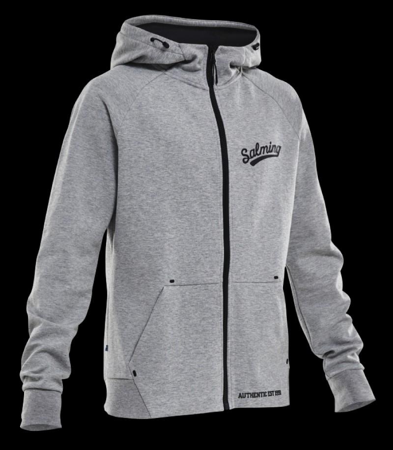 Salming Prime Hood Grey Melange
