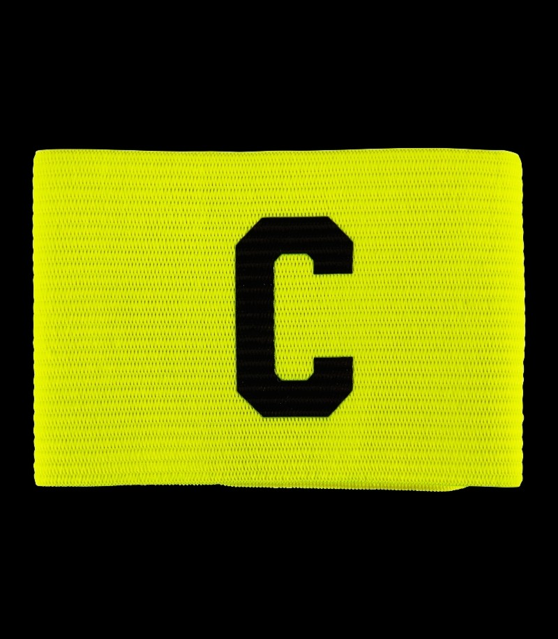 Salming Team Captain Armband Neongelb