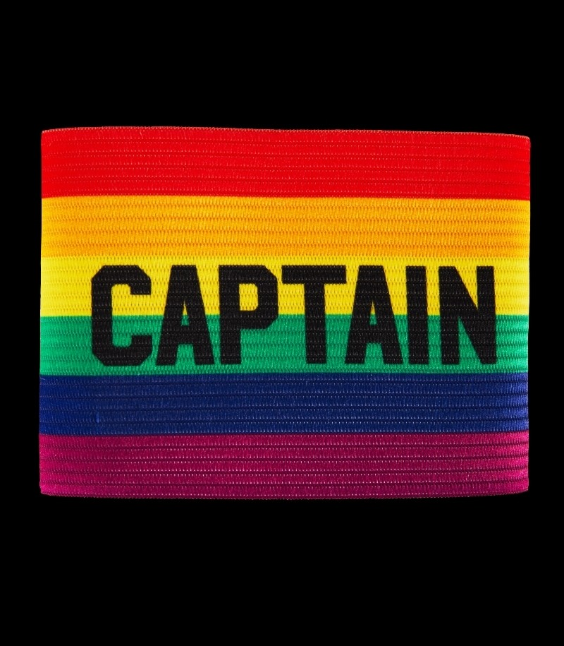 Salming Team Captain Armband Rainbow