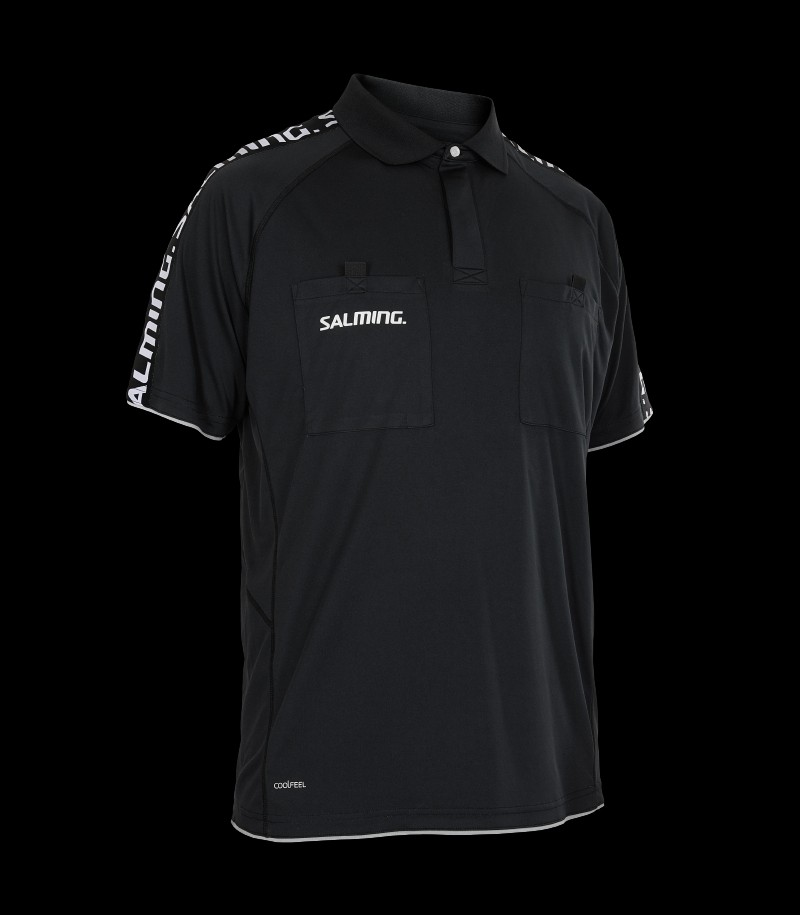 Salming Referee Polo Schwarz