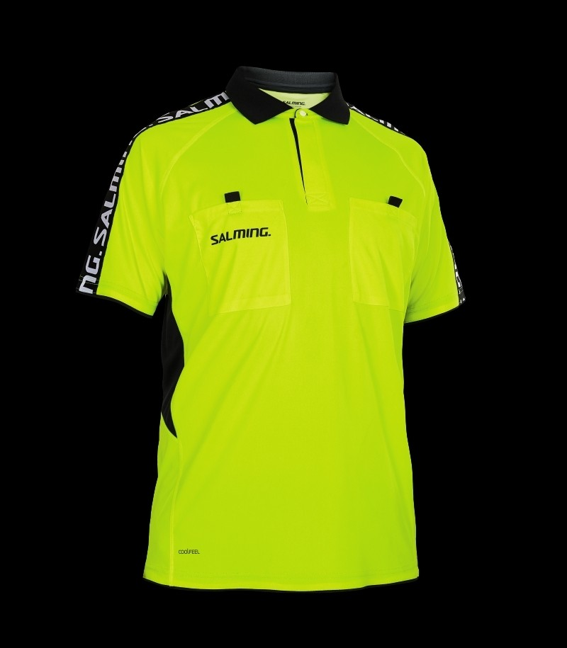 Salming Referee Polo Neongelb