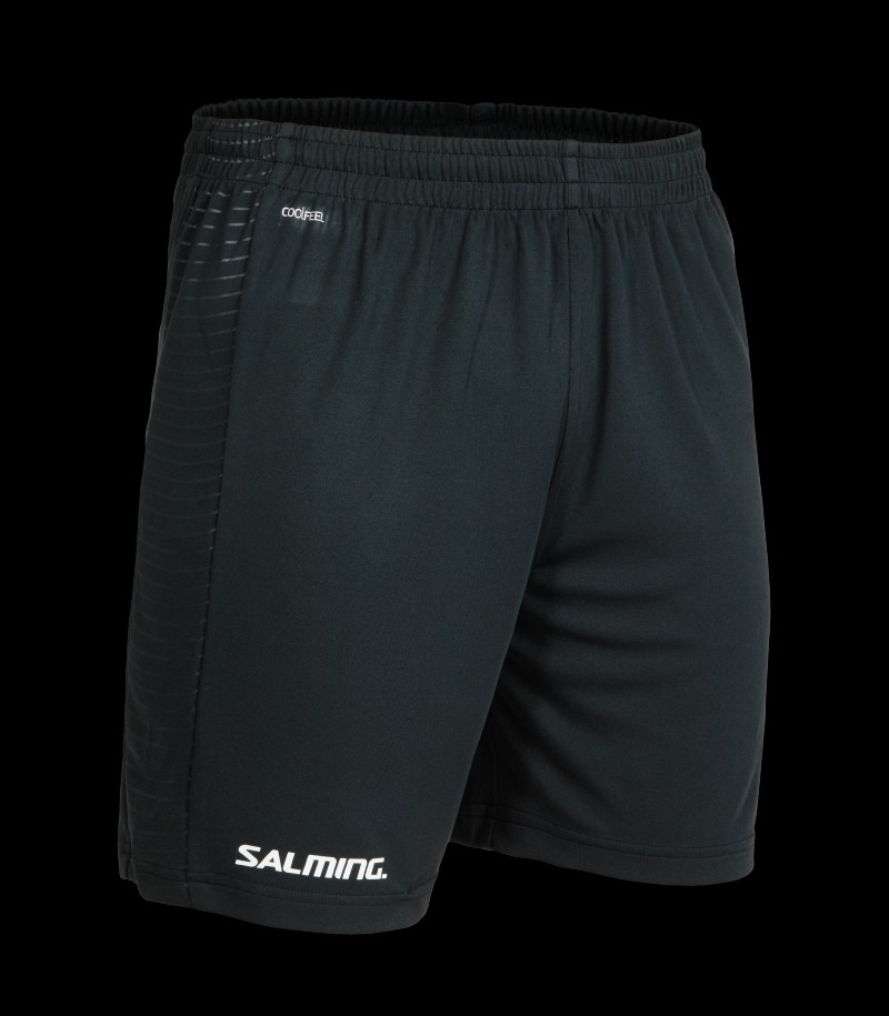 Salming Granite Game Shorts Schwarz