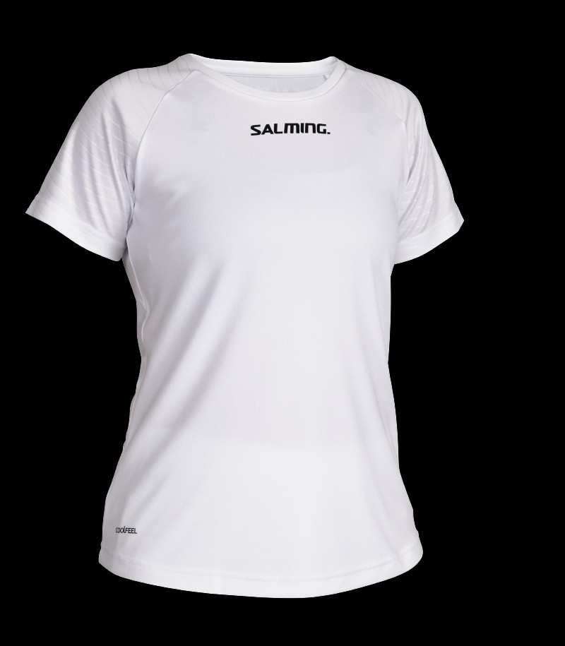 Salming Diamond Game Tee Weiss