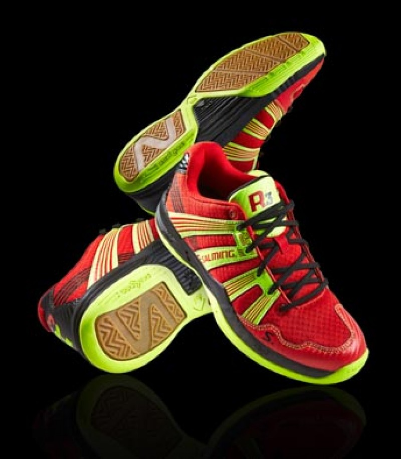 Salming Floorball & Handball Schuh Race R1 3.0 Red