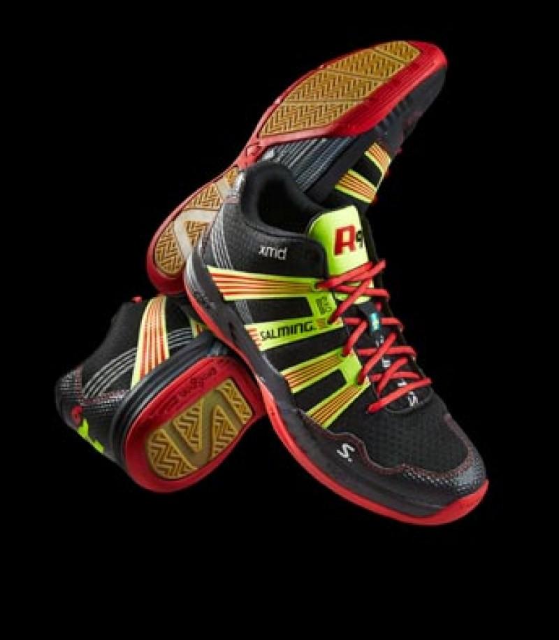 Salming Floorball & Handball Schuh Race R9 Mid 2.0