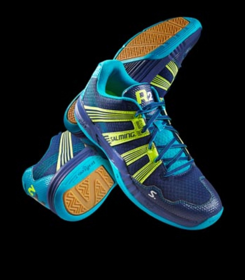 Salming Floorball & Handball Schuh Race R2 3.0 Navy