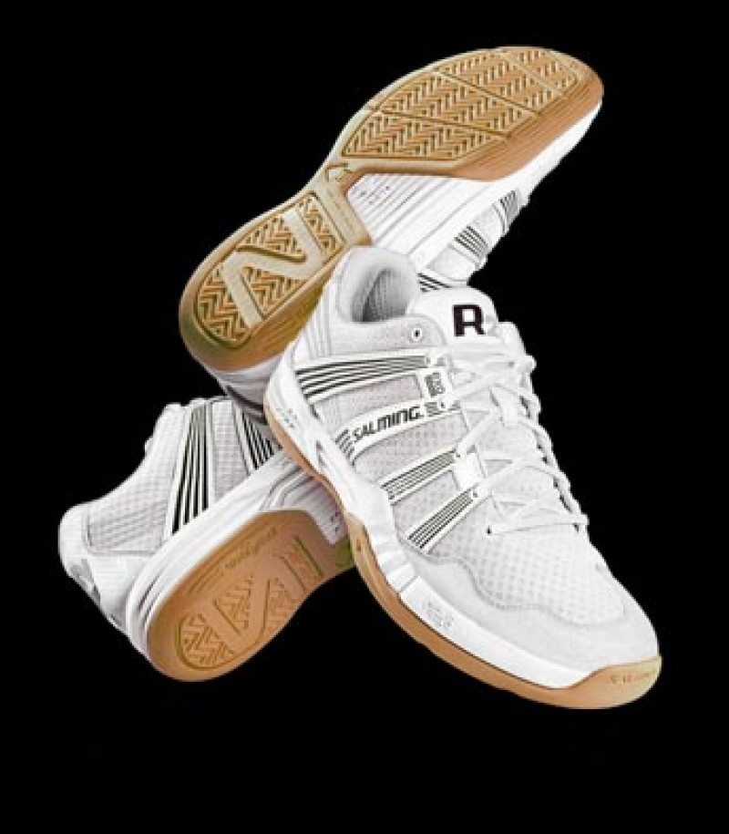 Salming Floorball & Handball Schuh Race R2 3.0 White