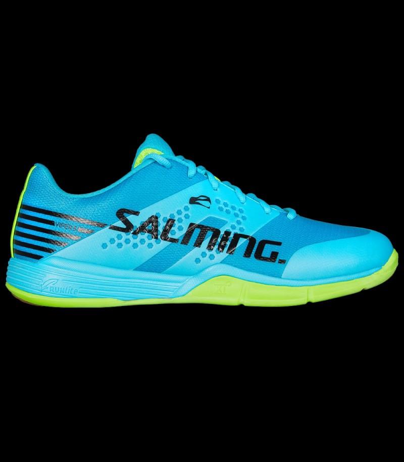 Salming Viper Men 5 Blue Atol/New Fluo Green