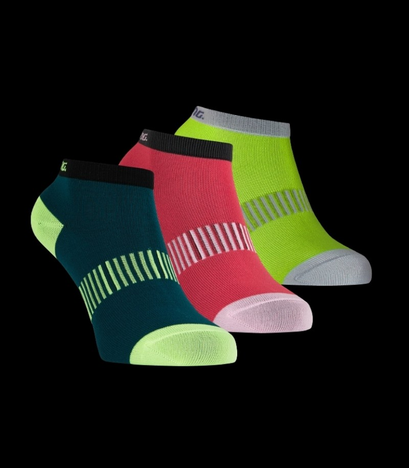 Salming Performance Ankle Sock 3-Pack Gelb/Mixed