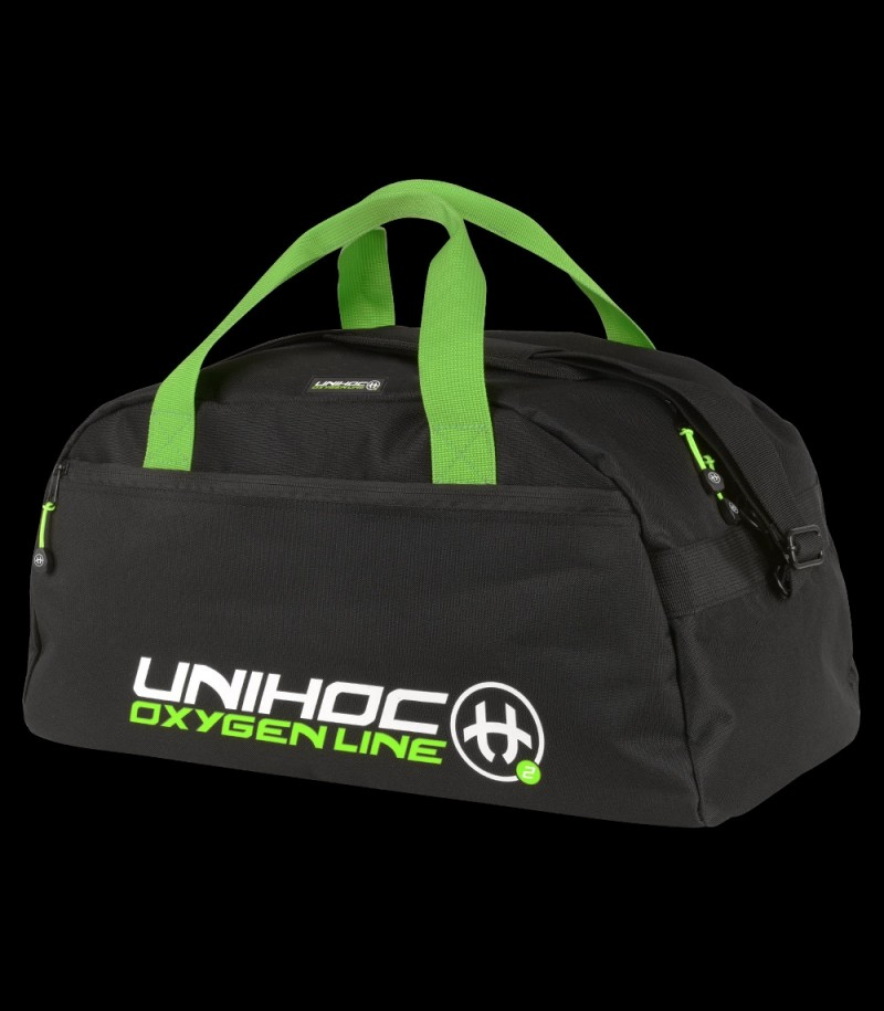 unihoc Sportbag Oxygen Line Small Schwarz