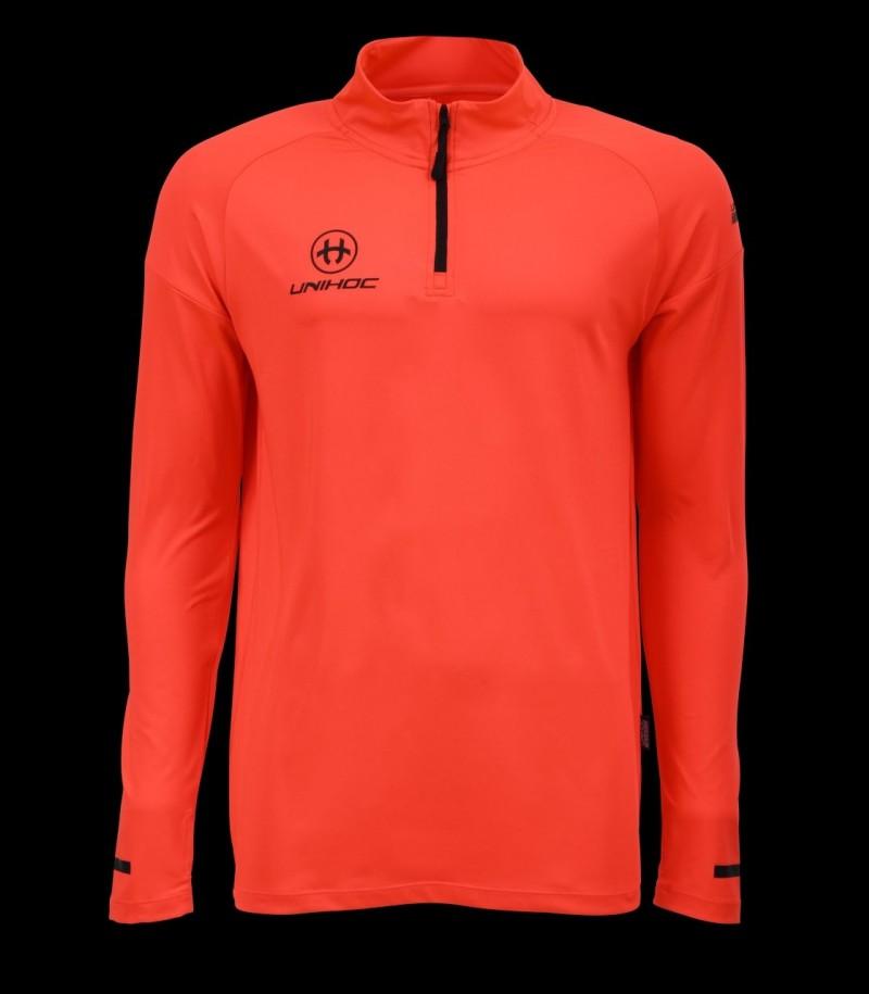 unihoc T-Shirt Technic Longsleeve Coral