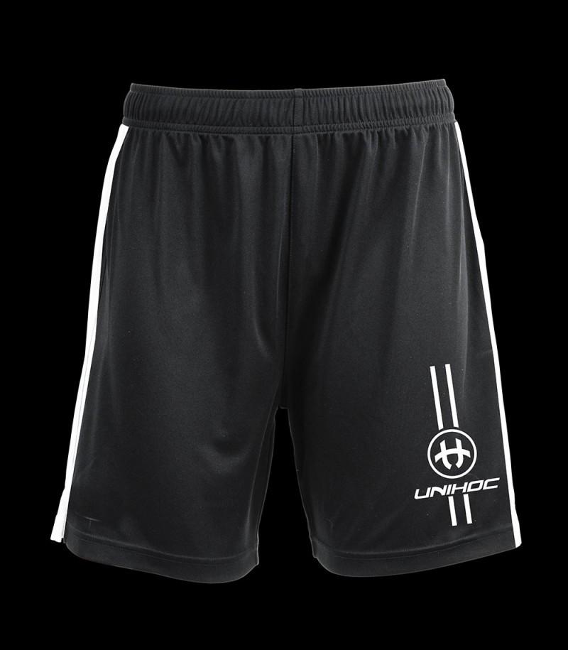 Unihoc Shorts Arrow schwarz/weiss
