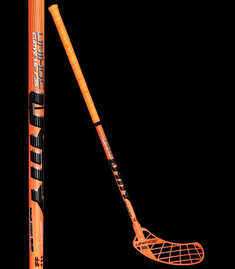 Unihoc Unity Curve 1.5° 35 Neon Orange/Schwarz