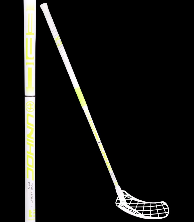 unihoc Epic Top Light II 26 weiss/neongelb