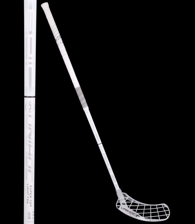 unihoc Epic Super Top Light 26 weiss/silber
