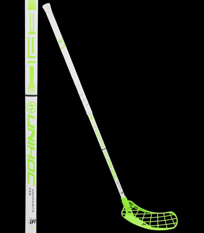 unihoc Epic Composite 29 weiß/hellgrün