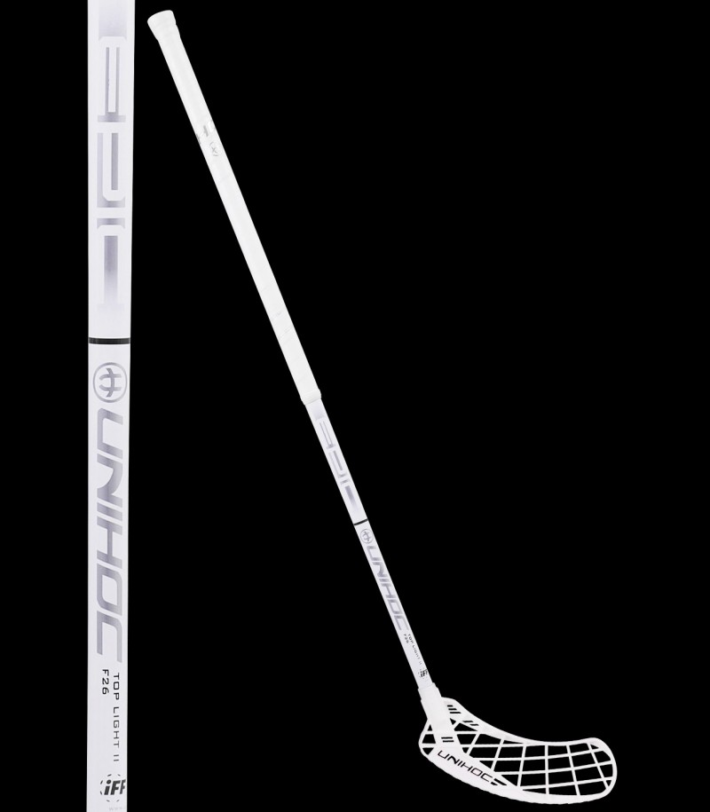 unihoc Epic Top Light II 26 weiss/silber