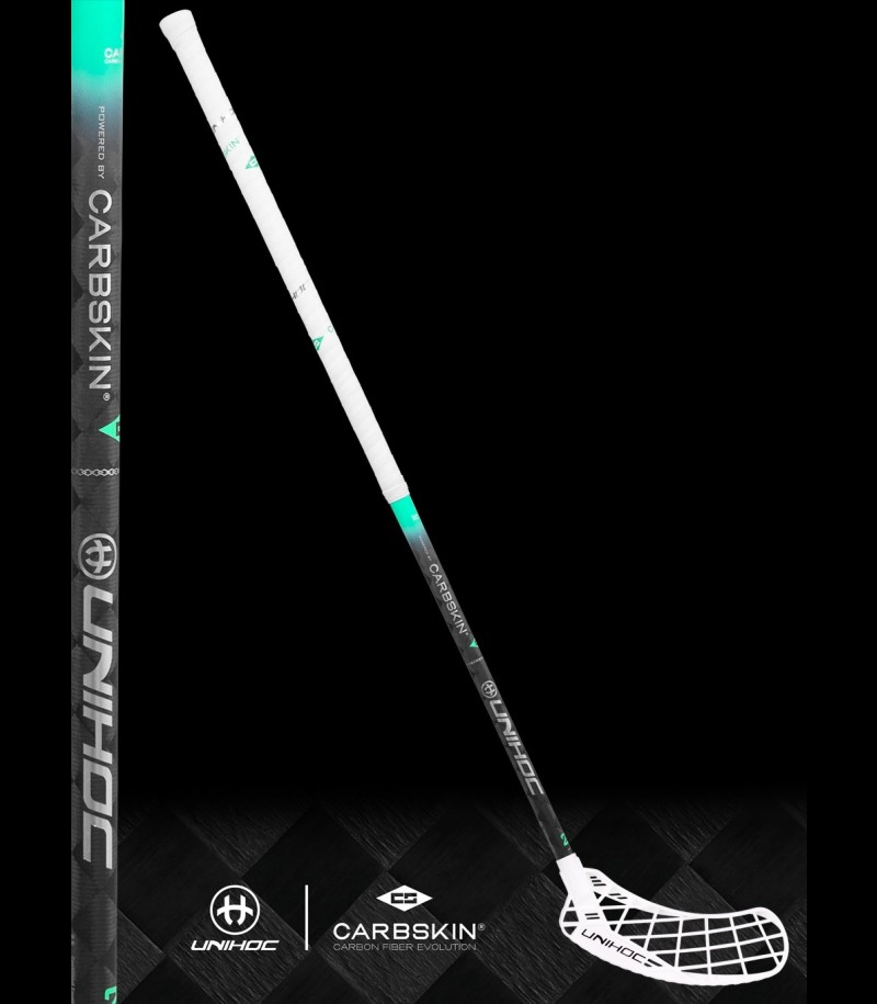 unihoc EPIC Carbskin 29 Feather Light weiss