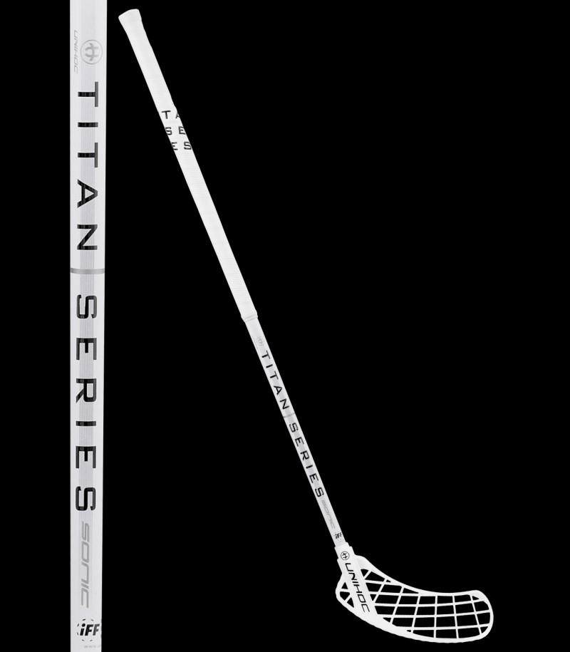 unihoc Epic TITAN Curve 2.0° 26 weiß