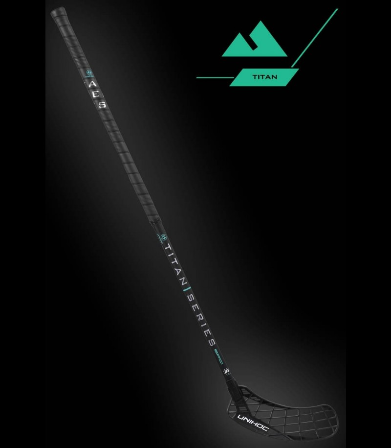 unihoc Epic TITAN Miracle Light 26 schwarz