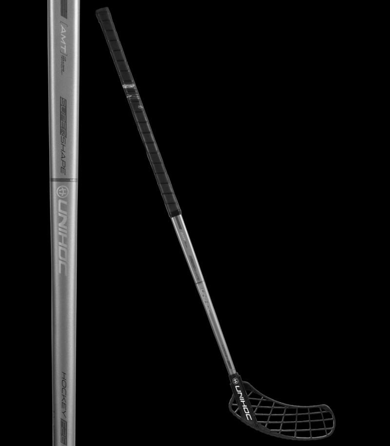 unihoc SONIC Supershape Hockey 26 schwarz/graphite