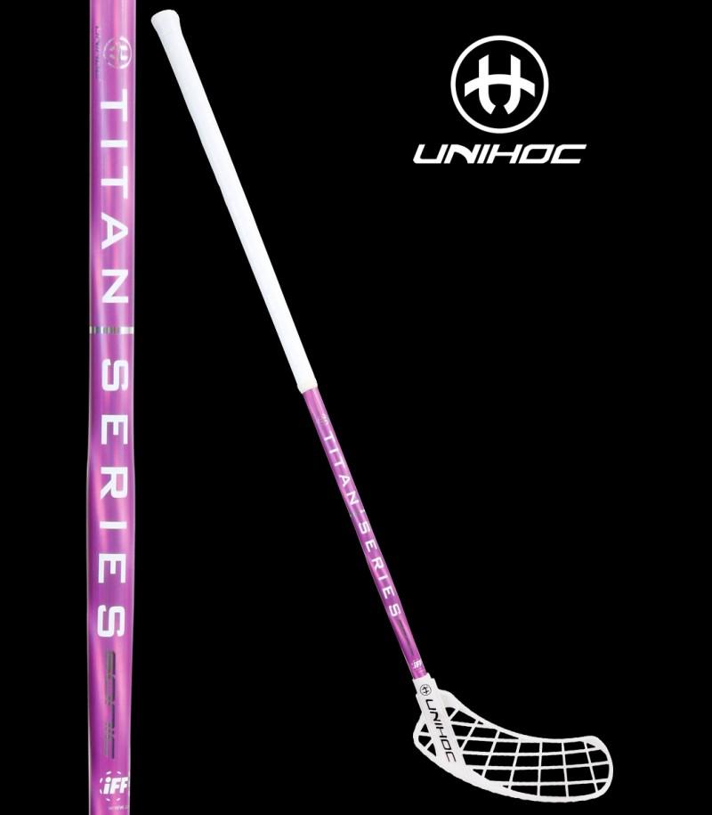 unihoc SONIC TITAN Edge Curve 1.0° 29 weiß/pink