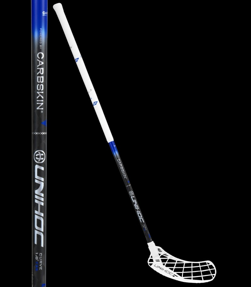 unihoc EPIC Carbskin Feather Light Curve 1.0° 26 blau