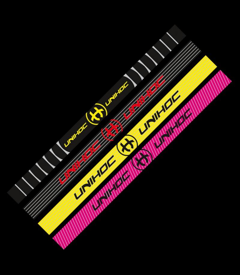 Unihoc Haarband Elastica 4er-Pack Neon