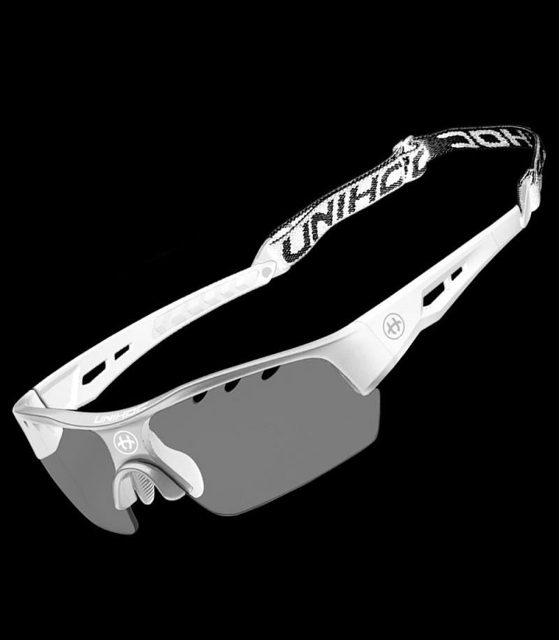 unihoc Sportbrille Victory Senior Silber/Weiss