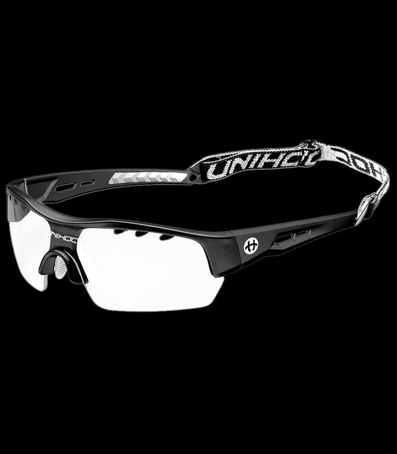 unihoc Sportbrille Victory Senior Schwarz/Weiss
