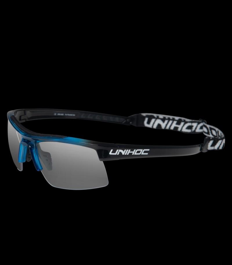 unihoc Sportbrille Energy Kids Blau/Schwarz