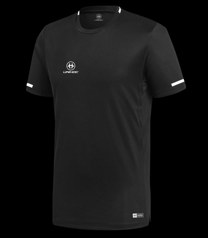 Unihoc T-Shirt Tampa Schwarz