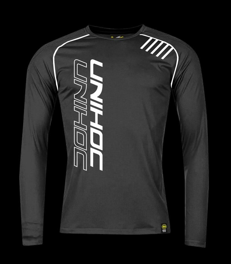 unihoc T-Shirt Warm-Up Longsleeve Schwarz