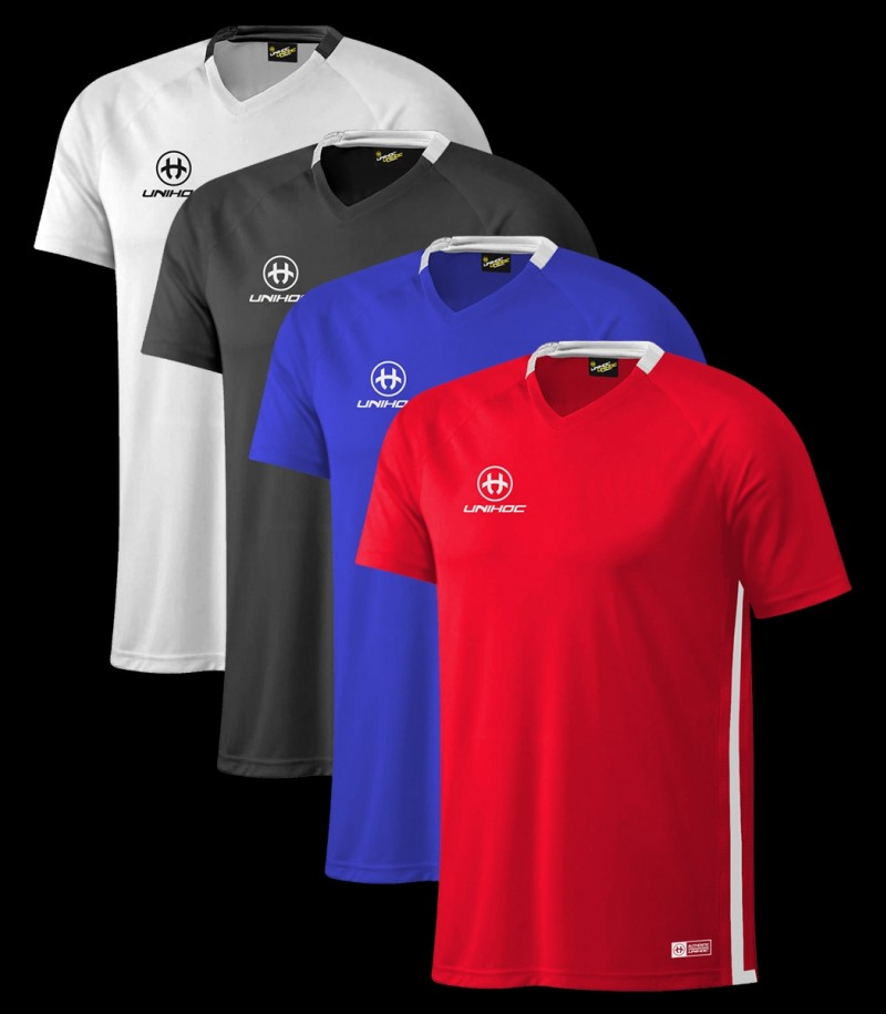 Unihoc T-Shirt Miami Schwarz
