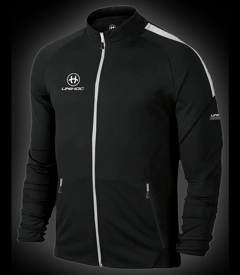 unihoc Trainingsjacke Technic schwarz